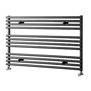 Towelrads Iridio Anthracite Horizontal Towel Rail 600mm x 1000mm