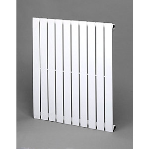 Towelrads Merlo White Single Horizontal Radiator 600mm x 1030mm