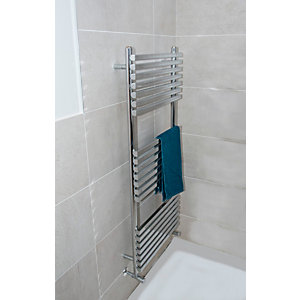 Towelrads Oxfordshire Chrome Towel Rail 1186 mm x 500mm