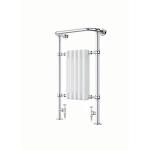 iflo Cereme Designer Towel Radiator White /Chrome 1510x510mm