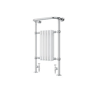 iflo Cereme Designer Towel Radiator White/Chrome 960x510mm