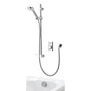 Aqualisa Visage Divert Thermostatic Digital Mixer Shower Pumped Gravity Fed (Concealed with Bath Filler) VSD.A2.BV.DVBTX.14