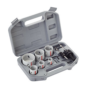 Bosch HSS BIM Holesaw Set 2608580803 - 9 Pieces