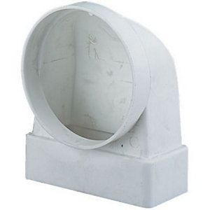 Manrose Elbow Ducting Bend 90 Degree 110x54mm