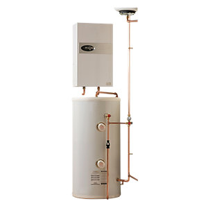 Electric Heating Company Eclipse CPSDECL12/180 Electric Boiler Complete with Direct Water Cylinder 12kW 180L