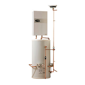 Electric Heating Company Eclipse CPSIECL12/180 Electric Boiler Complete with Indirect Water Cylinder 12kW 180L
