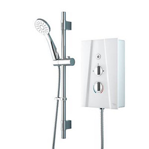 Electric Shower 8.5kW, White