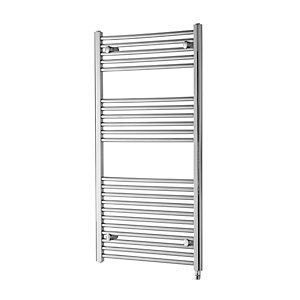 Towelrads Richmond Electric Straight Chrome Towel Rail 1186mm x 450mm