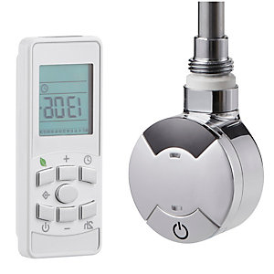 Towelrads Smart Timed Thermostatic Element Including Remote 1000W 825mm x 60mm