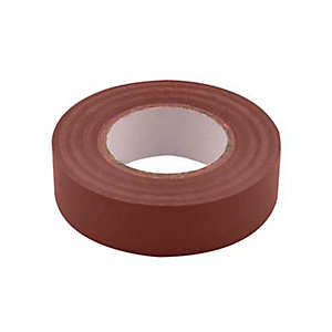 Unicrimp 1933BR 19mm x 33m Electricians Tape - Brown