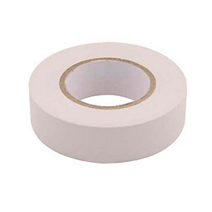 Unicrimp 1933W 19mm x 33m Electricians Tape - White