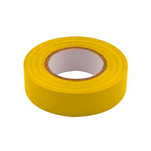 Unicrimp 1933Y 19mm x 33m Electricians Tape - Yellow