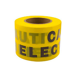 Unicrimp QUGT100 x 200 Underground Warning Tape 100mm x 200m Roll