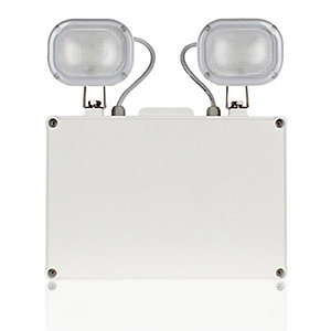 Esp EM9WNMSPOT LED 2 x 4.5W IP65 Non-maintained Emergency Twin Spot