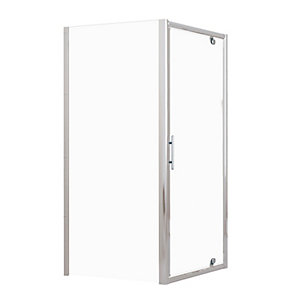 Novellini Lunes Shower Enclosure Side Panel 720 - 780 mm LUNESF72-1B