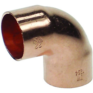 PlumbRight Endfeed Elbow 90 Degree 10mm