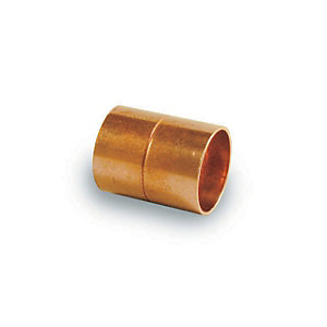 PlumbRight Straight Coupling End Feed 22mm