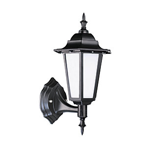 Robus Dingle 7W IP44 LED Coach Lantern - 4000K - Black