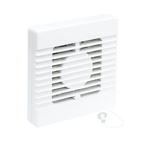 iflo Extractor Fan 100mm 4in Plus Pull Cord