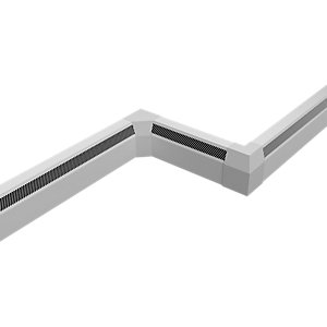 Smith's Sureline/2.0 Sureline 2000mm Perimeter Heating (Skirting Level) White
