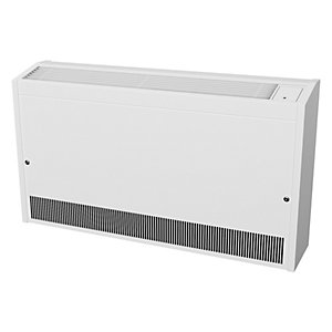 Smiths Environmental Caspian Hl 120/10 High Level Wall Mounted Fan Convector White