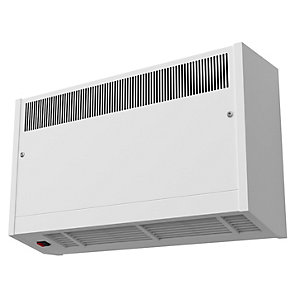 Smiths Environmental Caspian Hl 90/07 High Level Wall Mounted Fan Convector White