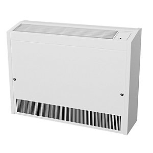 Smiths Environmental Caspian Ll 90/07 Low Level Wall Mounted Fan Convector White