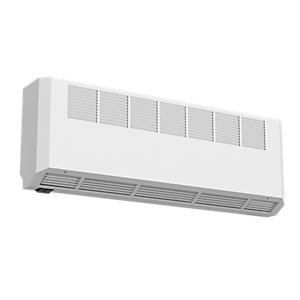 Smiths Environmental Ecovector Hl 2300 High Level Wall Mounted Fan Convector White