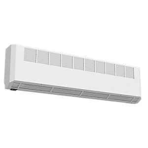 Smiths Environmental Ecovector Hl 2900 High Level Wall Mounted Fan Convector White