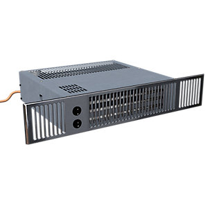 Smiths Environmental Ss5D/5 Space Saver Ss5/Dual Hydronic/Electric Plinth Heater Stainless Steel Grille