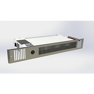 Smiths Space Saver Hydronic Kitchen Plinth Heater Stainless Steel Grille SS80