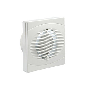 Manrose BVF150T 150mm Toilet & Bathroom Axial Fan with Timer