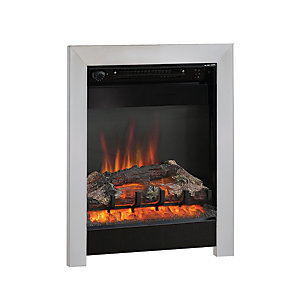 "Be Modern Athena 16"" Inset Electric Fire - Black/Chrome"