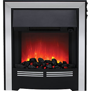 Be Modern Vitesse Inset Electric Fire - Chrome