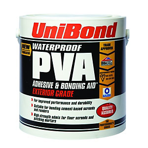 UniBond Waterproof PVA 2.5L