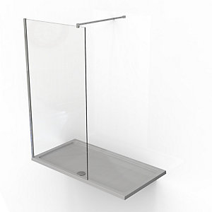 Kudos Ultimate2 8mm Walk-In Shower Panel & Tray Pack 1500 x 900 mm 7WIR1590