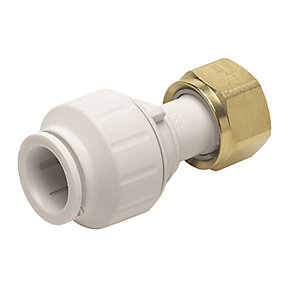 JG Speedfit Straight Tap Connector 15mm x 3/4in PEMSTC1516