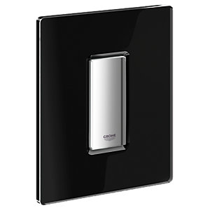 Grohe Skate Cosmo Black Vertical Flush Plate