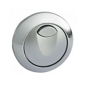 GROHE Dual Flush Air Button Chrome Plated 38771000