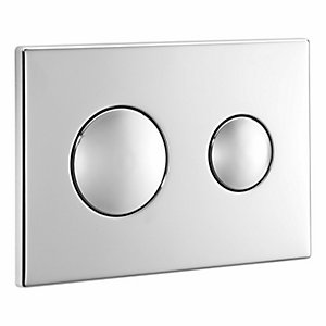 Ideal Standard Contemporary Dual Flush Plate S4399AA
