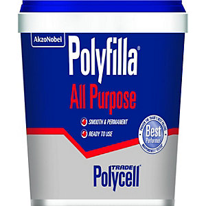 Polycell Polyfilla All Purpose Professional Trade Powder Mix 1kg