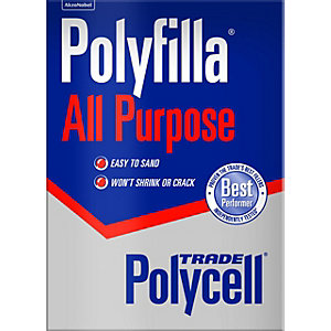 Polycell Polyfilla All Purpose Professional Trade Powder Mix 2kg