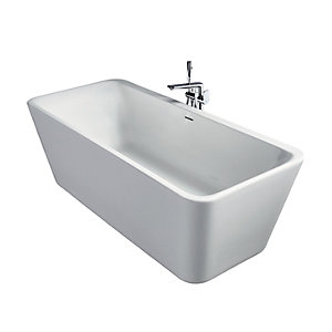 Free Standing Bath 1800 x 800mm Including Waste E398101