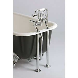 Heritage Bath Trap for Cast Iron Baths Exposed Chrome THC15CI