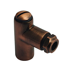 Re18Pb Brass Gas Restrictor Elbow 1inchx8mm