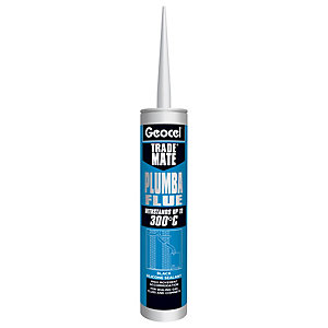 Geocel 2902443 Trade Mate Plumba Flue 310ml Red