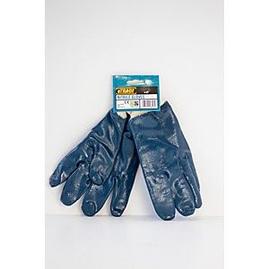 4TRADE Nitrile Gloves Knitted Wrist