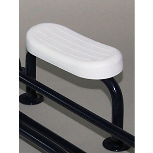 Barwood B317/5011 Back Rest Rail & Pad Blue