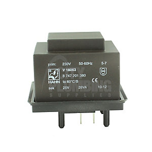 Worcester Bosch 87472013190 Transformer - Black