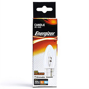 Energizer 33W Candle B22 Eco Lamp